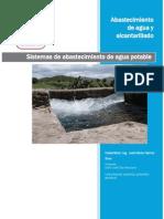 Fuentes de abastecimiento de agua y tipos de sistemas de abastecimiento