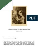 Aleister Crowley e l'Uso Della Tavoletta Ouija