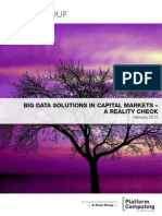 Big Data Solutions in Capital Markets