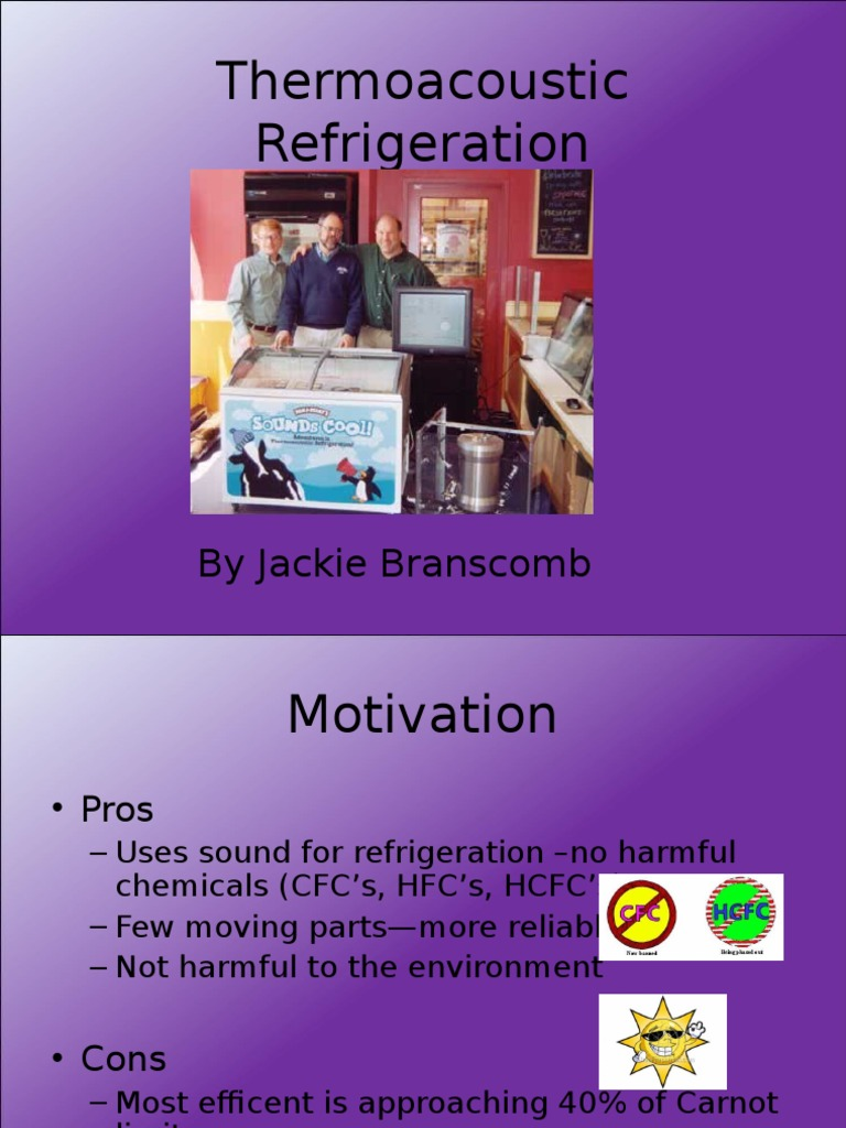 thermoacousticrefrigeration