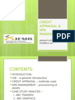 Creditappraisalnpamanagement Ppt 140721000847 Phpapp02