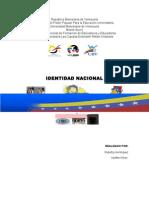 La Identidad en La Venezuela Del Siglo Xix