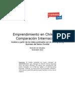 Emprendimiento en Chile - Una Comparación Internacional