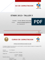 Etabs Taller 5