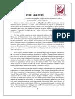 Mensaje de Los Obispos - Año de La Fe - Perú Vive Tu Fe