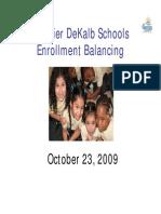 Enrollment Balancing