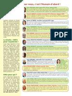 Journal Front de Gauche - cantonales 2015 Palaiseau