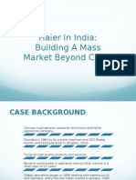 Haier in india building presence