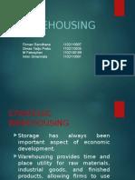 Warehousing / pergudangan
