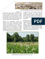 Nutrient and Vegetation Management in Outdoor Hog Production Systems
