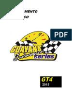 Reglamento GES 2015 Cat. GT4