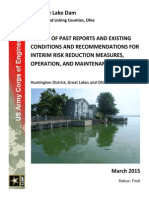 Buckeye Lake Dam Final Report - March 2015