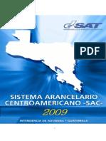 Sistema Arancelario Centroamericano 2009