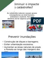 catastrofes naturais consequencias