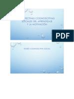 Perspectivas Cognoscitivas Sociales Del Aprendizaje y La Motivación 2