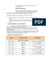 Concrección curricular 6ºC - Science (Blog)