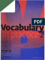 Vocabulary in Practice 2 Elementary