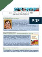 Boletín de la Secretaría de Educación de la CTERA (20/02/15)