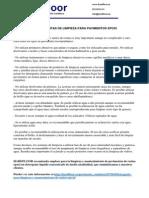 EL MANTENIMIENTO Y LA LIMPIEZA DE LOS PAVIMENTOS DE RESINAS EPOXI