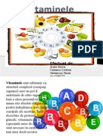 Vitaminele proiect chimie
