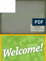 Internal Records.