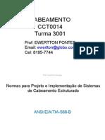 Norma Para Projetos ANSI EIA TIA 568B