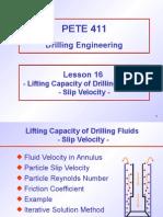 Lift Cap Drill Fluid
