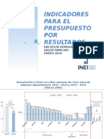 Diapositivas Desnutrición y Anemia 2014