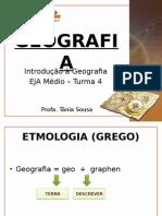 Aula 1 - Introdução à Geografia