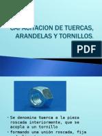 Capacitacion de Tuercas. Arandelas y Tornillos