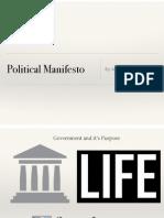 poilitical manifesto project pdf