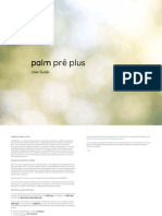 Palm Pre Plus User Manual