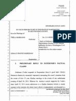 7 Twila Markham v Gerald Markham RES Declaration-Reply 13-3-08383-7 SEA