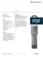 Tubing Drain Technical Datasheet