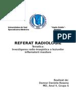 referat radiologie