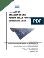 Diseño Planta Solar