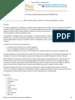 Malaria_ MedlinePlus Enciclopedia Médica