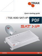 310101A Triax TSS400 Sat_IP - Quick Guide - English