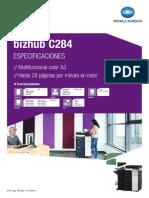 Caracteristicas c284