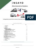 Ensayo Sobre Política Comercial en Honduras
