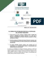 Consejo de Estabilidad Mx - Basilea III