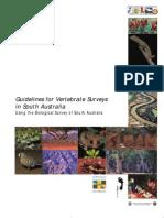 Vertebrate Survey Manual