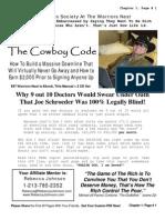 CowboyCode (Sample of Joe Schroeder's Warriors Nest)