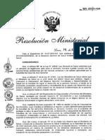 Reglamento Sobre Vigilancia de Alimentos Rm907_2012_minsa
