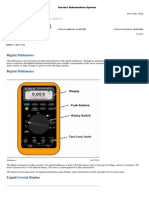 420E Backhoe Loaderelectrical Measurement