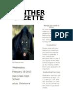 panther gazette
