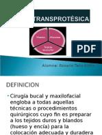 CIRUGIA transPROTESICA