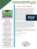 september 2014 ghwc newsletter