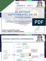 Unidad 1 Act 1 El Metodo Experimental en La Psicologia