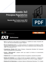 3x3 Principios Regulatorios